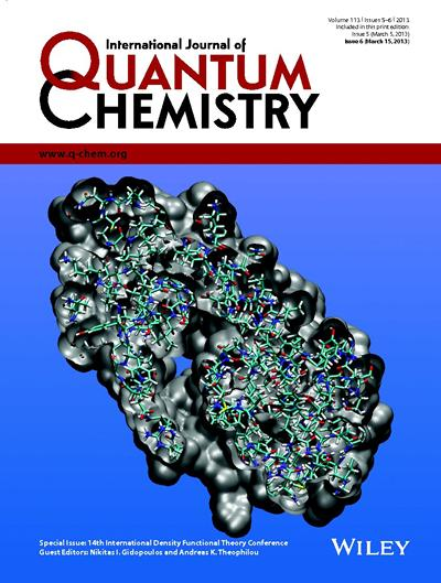 Quantum Chemistry Front Cover