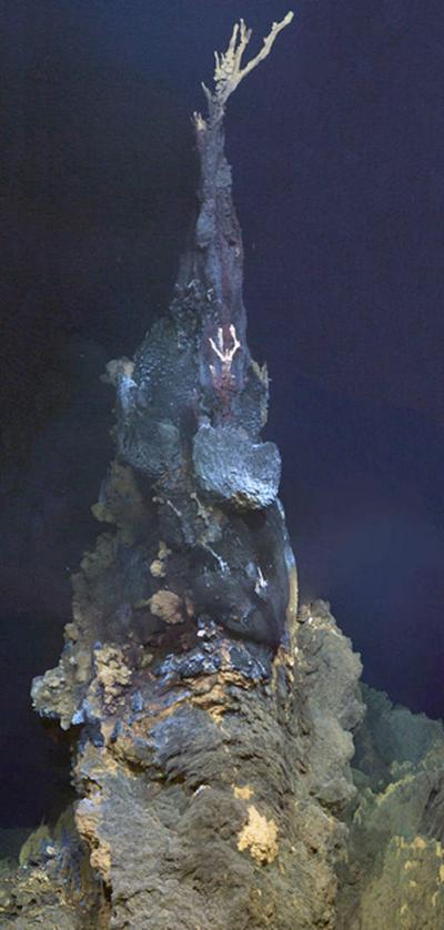 High-temperature mineral chimney named the 'Jabberwocky'