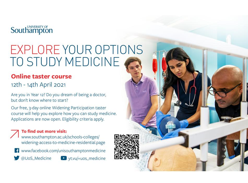 Advert for online course