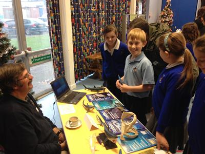 Calmore Junior School Year Six Careers Day. Photo credit: Nick Darch