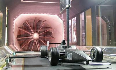 The R. J. Mitchell wind tunnel