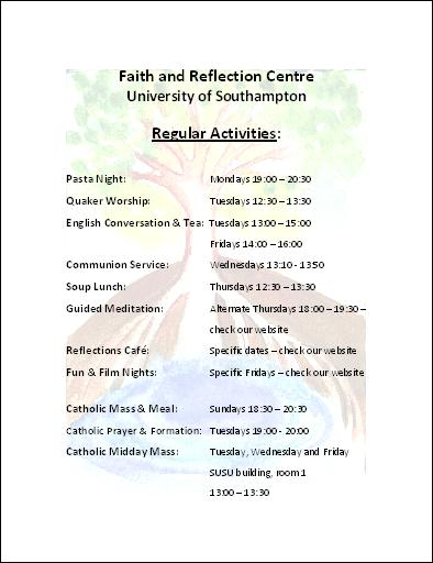 FRC Regular Activities