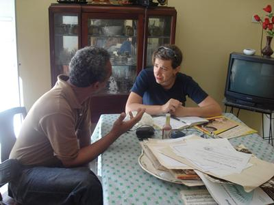 Interviewing flautist Alberto Corrales