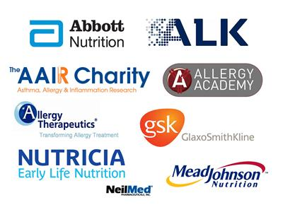Kind sponsors of the MSc Allergy
