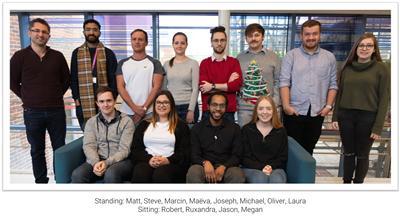 Matthias Baud and his team