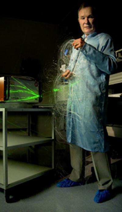 Top honour for fibre optoelectronics pioneer