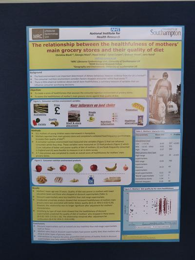 The PopFest Wine Reception and Poster Session was a huge success and poster prizes were judged and awarded by Professor Peter Smith (Director, Southampton Social Statistics Research Institute).