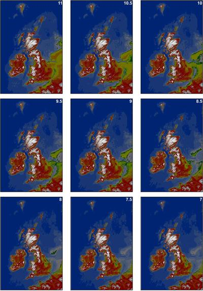 Holocene inundation, from Sturt et al. 2013