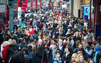 Multicultural population in the UK