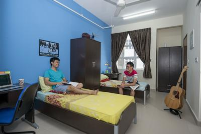 Typical room, EduCity's Student Village, Malaysia