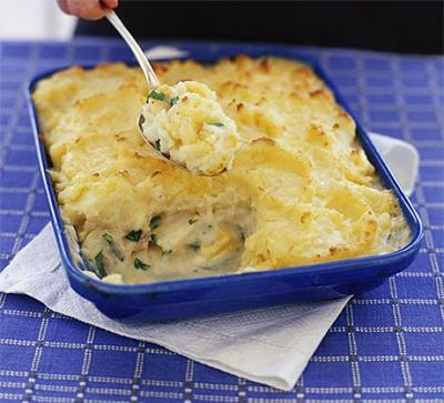 Quick & Easy Fish Pie