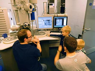 Inspiring all generations with world-class microscopy