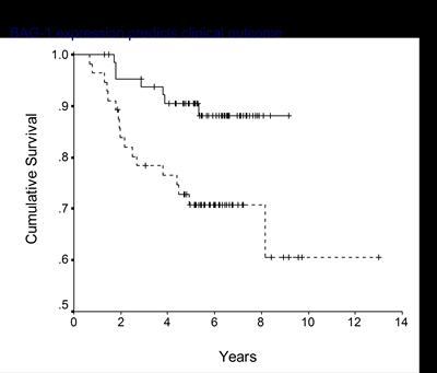 BAG-1 expression predicts clinical outcome