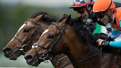 Racing at Sandown
