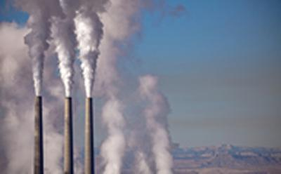 The rise of atmospheric carbon dioxide (CO2) principally due to the burning of fossil fuels is a key driver of anthropogenic climate change