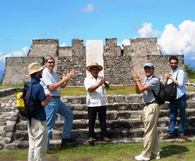 Investigating the acoustics of pyramids in Xochicalco