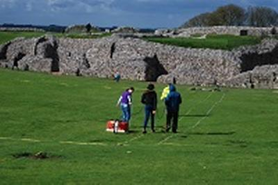 GPR survey at the inner bailey of Old Sarum