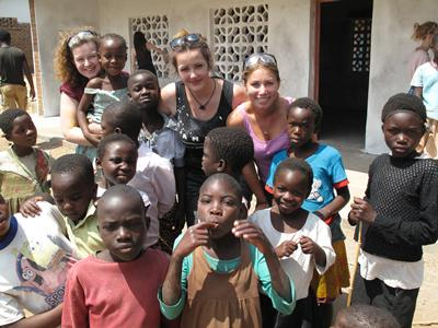 Charlene Wickham in Malawi