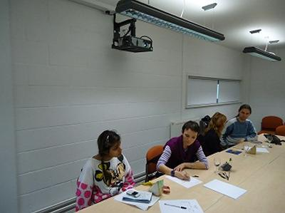 Students at Focus Group A