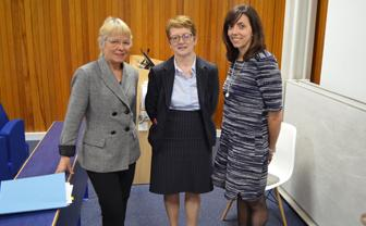 Law Professors with Barrister Sally Robertson