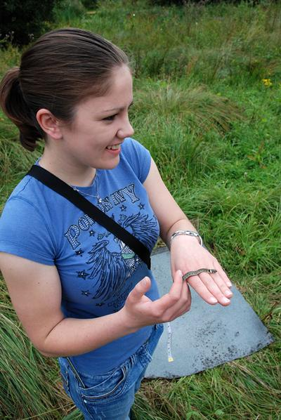 BSc Biology, graduated 2009 - placement in conjunction with the Hampshire and Isle of Wight Wildlife Trust
