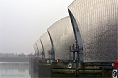 The Thames Barrier was built to protect London from floods with a return period of 1000 years up to 2030.