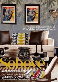 Artwork Design for Interiors Event by Joy