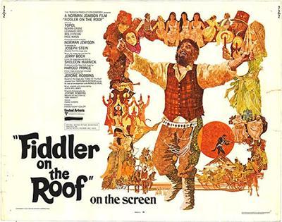 Fiddler on the Roof (Norman Jewison's film adaptation of Yiddish writer Sholom Aleichem's short story, 1971)