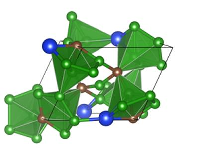 A possible crystal structure of Si doped B4C