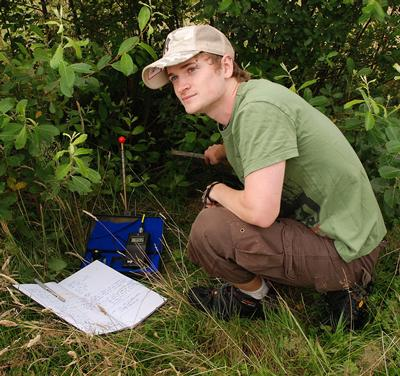 BSc Zoology, graduated 2009 - studying newts on Southampton Common