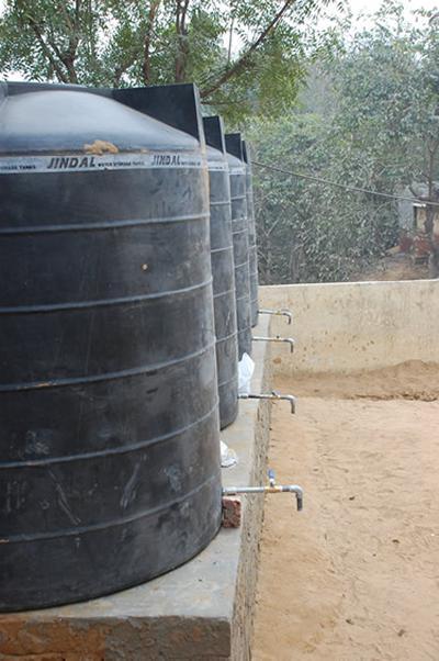 Clean water tanks