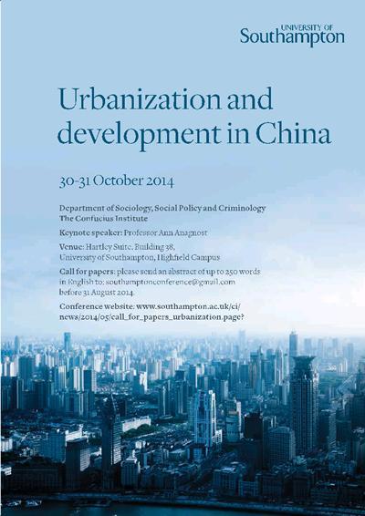Urbanization and Development in China