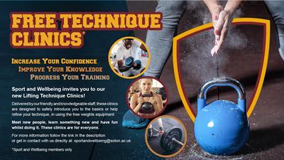 Technique Clinics that are free