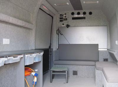 MRU interior