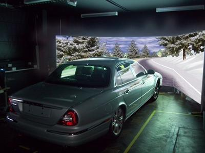 The University of Southampton's driving simulator