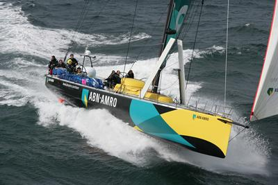ABN AMRO I racing in the 2005-2006 Volvo Ocean Race