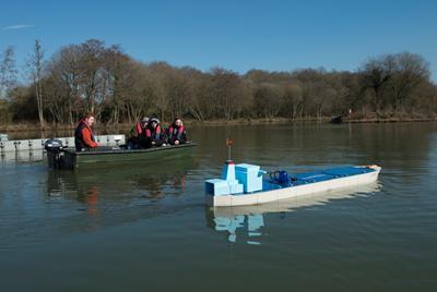Testing of an Autonomous Surface Vessel