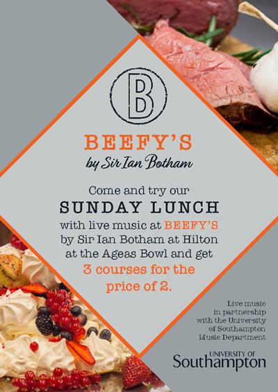 Beefy's Sunday Lunch Offer