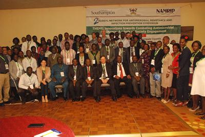 Some of the conference delegates