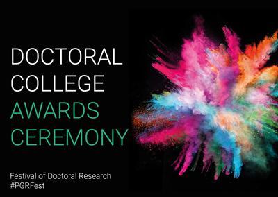 Doctoral College Awards Ceremony