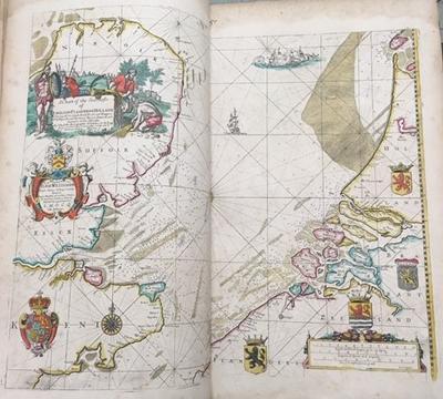 John Seller, Atlas Maritimus, or, the Sea-atlas (London, 1675)