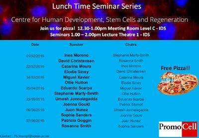 Lunch Time Seminar Series 2016