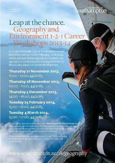 1-2-1 Career workshops