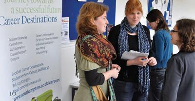Humanities postgraduates meet recruiters to discuss career opportunities