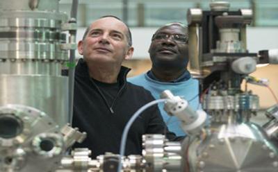 Professor Brian Hayden and Dr Samuel Guerin