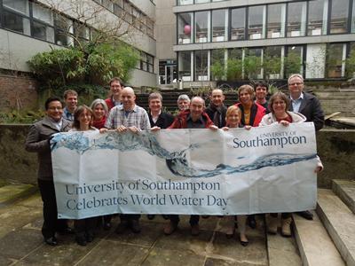University of Southampton Celebrates World Water Day and International Year of Water Cooperation 2013