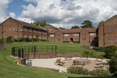 One of the many Halls of Residence