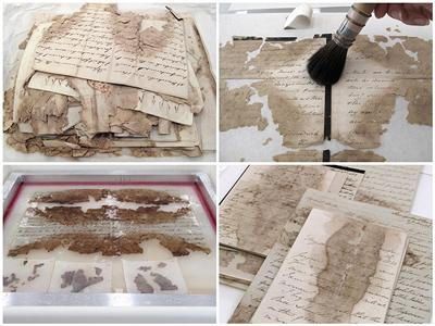Conserving the Wellington Papers