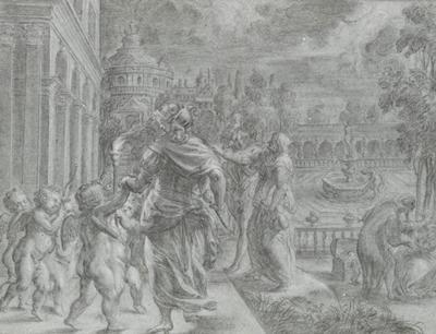 Tapestry cartoon, 1630s