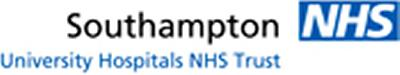 Our research is supported and funded by Southampton University Hospital Trust